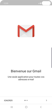 Samsung Galaxy S10 Plus - E-mail - 032a. Email wizard - Gmail - Étape 5