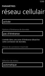 Nokia Lumia 1020 - Réseau - Sélection manuelle du réseau - Étape 5