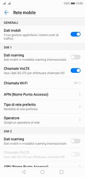 Huawei P20 - Rete - Selezione manuale della rete - Fase 5