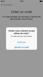Apple iPhone SE - Premiers pas - Créer un compte - Étape 16