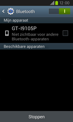 Samsung I9105P Galaxy S II Plus - bluetooth - aanzetten - stap 6