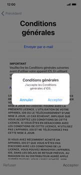 Apple iPhone XR - Premiers pas - Configuration de l