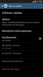 Samsung Galaxy S 4 Mini LTE - Software - Installieren von Software-Updates - Schritt 7
