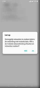 LG v40-thinq-lm-v405ebw - Netwerk selecteren - Handmatig een netwerk selecteren - Stap 9