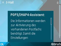 Nokia E71 - E-Mail - Konto einrichten - Schritt 16