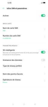 Oppo Find X2 - Réseau - Sélection manuelle du réseau - Étape 6