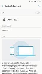 Samsung Galaxy A3 (2017) (SM-A320FL) - WiFi - Mobiele hotspot instellen - Stap 7