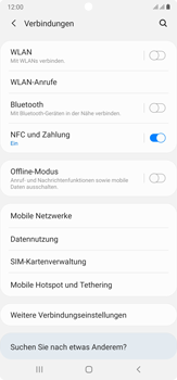 Samsung Galaxy Note 20 Ultra 5G - Internet und Datenroaming - Manuelle Konfiguration - Schritt 5