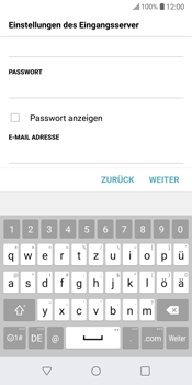 LG G6 - E-Mail - Konto einrichten - 12 / 25