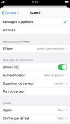 Apple iPhone 7 - iOS 13 - E-mail - Configuration manuelle - Étape 22