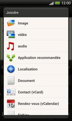 HTC C525u One SV - E-mail - envoyer un e-mail - Étape 10