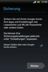 HTC A320e Desire C - Apps - Konto anlegen und einrichten - Schritt 16