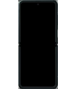 Samsung Galaxy Z Flip Single-SIM + eSIM (SM-F700F) - Instellingen aanpassen - SIM-Kaart plaatsen - Stap 6
