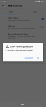 Sony Xperia 1 - Ausland - Im Ausland surfen – Datenroaming - Schritt 10