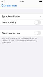 Apple iPhone SE - iOS 13 - Ausland - Im Ausland surfen – Datenroaming - Schritt 7