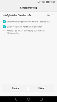 Huawei P9 Plus - E-Mail - Konto einrichten (outlook) - 9 / 12