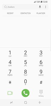 Samsung Galaxy S8 (G950) - Voicemail - Handmatig instellen - Stap 4