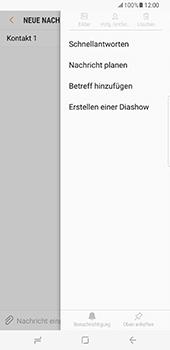 Samsung Galaxy S8 Plus - MMS - Erstellen und senden - 1 / 1