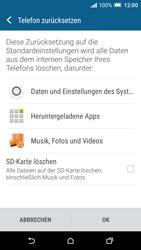 HTC One A9 - Fehlerbehebung - Handy zurücksetzen - 9 / 11