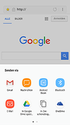 Samsung Galaxy J3 (2017) - Internet und Datenroaming - Verwenden des Internets - Schritt 21