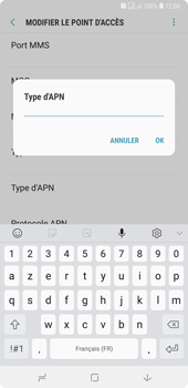 Samsung Galaxy A7 (2018) - Internet - configuration manuelle - Étape 16