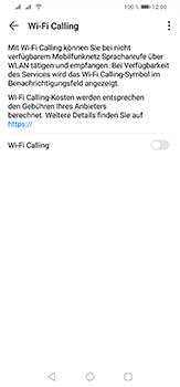 Huawei P30 Lite - WiFi - WiFi Calling aktivieren - Schritt 7