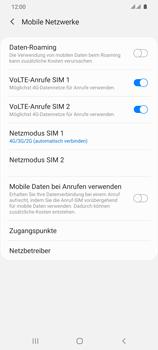 Samsung Galaxy S20 Ultra 5G - Netzwerk - So aktivieren Sie eine 5G-Verbindung - Schritt 6