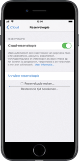 Apple iphone-7-met- ios-12-model-a1778 - Instellingen aanpassen - Back-up maken in je account - Stap 11