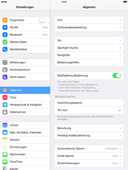 Apple iPad Air - E-Mail - Konto einrichten - 3 / 28