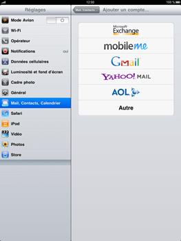 Apple iPad - E-mail - Configuration manuelle - Étape 4