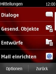 Nokia Asha 300 - E-Mail - Konto einrichten - 0 / 0