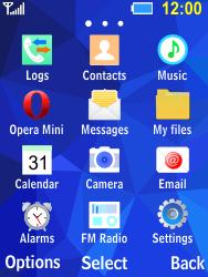 Samsung B550H Xcover 550 - E-mail - Sending emails - Step 3