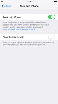 Apple iPhone 7 Plus - iOS 12 - Beveiliging en privacy - zoek mijn iPhone activeren - Stap 12