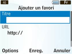Samsung S3350 Chat 335 - Internet - Navigation sur Internet - Étape 11