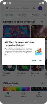 Oppo Find X2 Neo - Apps - Nach App-Updates suchen - Schritt 6