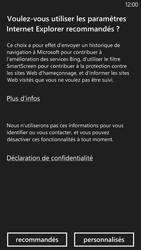 Nokia Lumia 1320 - Internet - navigation sur Internet - Étape 3