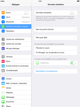 Apple iPad 4th generation iOS 7 - Internet - activer ou désactiver - Étape 5