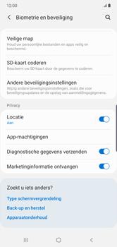 Samsung galaxy-note-10-plus-single-sim-sm-n975f - Beveiliging en ouderlijk toezicht - Hoe wijzig ik mijn SIM PIN-code - Stap 5