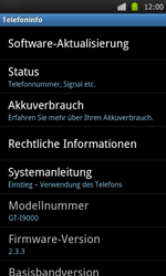 Samsung I9000 Galaxy S - Software - Update - Schritt 5
