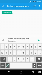 Sony Xperia Z5 Compact - Contact, Appels, SMS/MMS - Envoyer un SMS - Étape 9