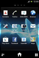 Sony Xperia Miro - Netzwerk - Netzwerkeinstellungen ändern - 2 / 2