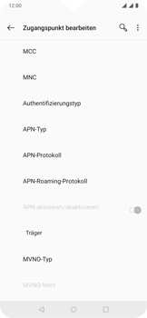 OnePlus 6T - Android Pie - MMS - Manuelle Konfiguration - Schritt 14