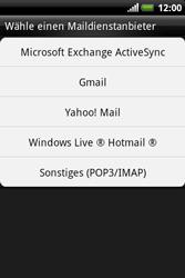 HTC A310e Explorer - E-Mail - Konto einrichten - Schritt 5