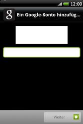 HTC A510e Wildfire S - Apps - Konto anlegen und einrichten - Schritt 14