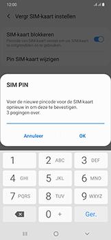 Samsung Galaxy A50 - Beveiliging - pas de pincode voor je simkaart aan - Stap 11
