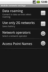 Samsung I7500 Galaxy - MMS - Manual configuration - Step 6
