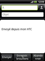 HTC A3333 Wildfire - E-mail - Envoi d