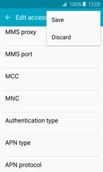 Samsung J120 Galaxy J1 (2016) - MMS - Manual configuration - Step 13