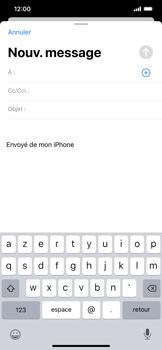 Apple iPhone 11 - E-mail - envoyer un e-mail - Étape 3