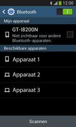 Samsung Galaxy S3 Lite (I8200) - Bluetooth - koppelen met ander apparaat - Stap 8